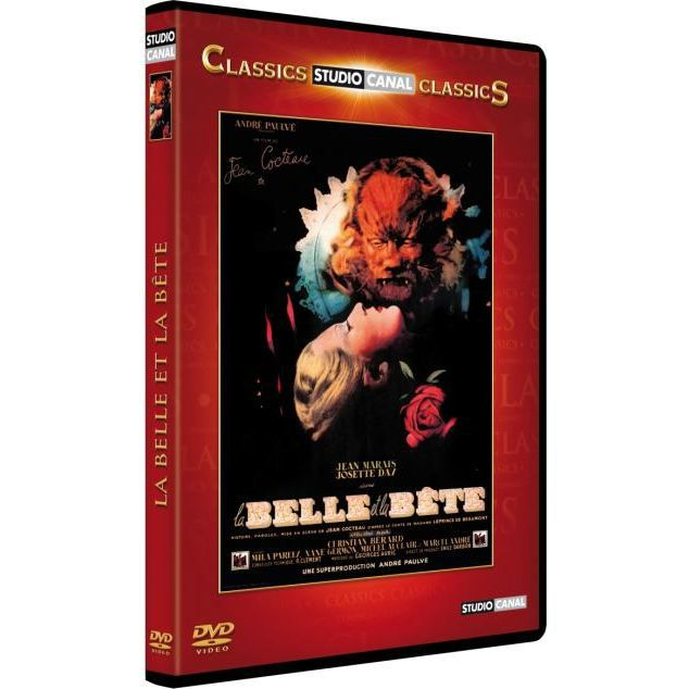 dvd la belle et la b te en dvd film pas cher cocteau jean. Black Bedroom Furniture Sets. Home Design Ideas