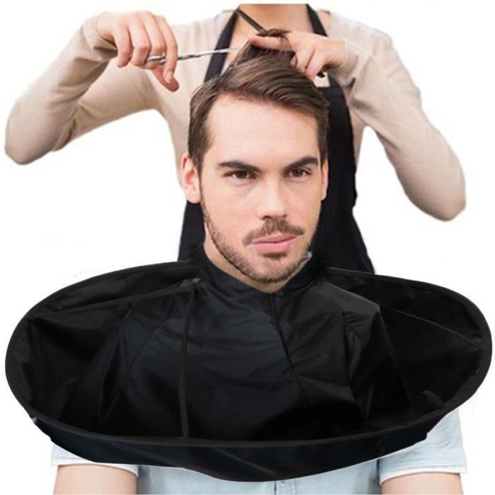 Coupe de cheveux bricolage parapluie Cape Cape Salon de coiffure et stylistes à la maison à l'aide @Yun038