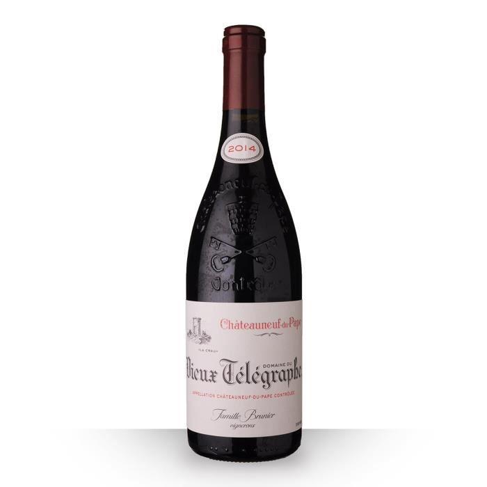 Domaine du Vieux Télégraphe 2014 Rouge 75cl AOC Châteauneuf-du-Pape - Vin Rouge