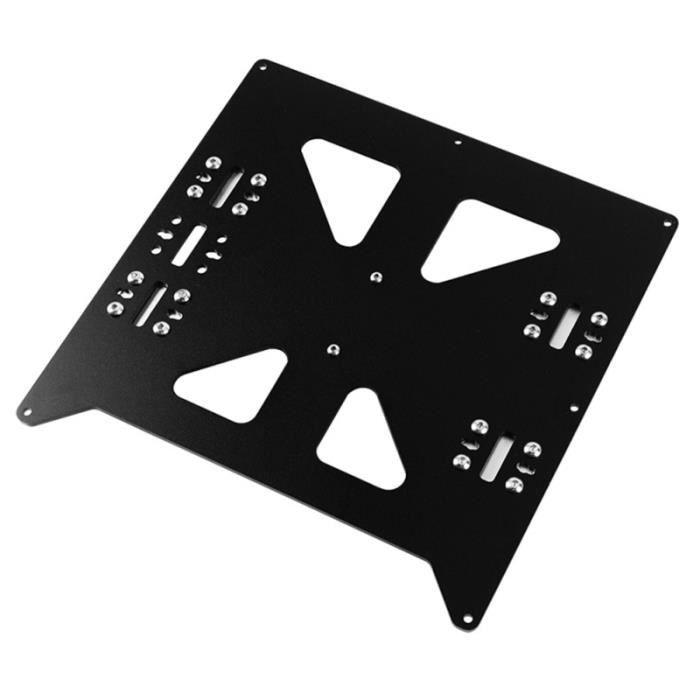 1 pièce de fourniture d'accessoire d'impression 3D de plaque de lit chauffée pratique pour DEODORANT CORPOREL - PIERRE D ALUN