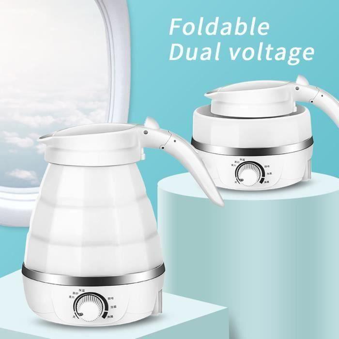Rétractable pliant en silicone bouilloire électrique Voyage mini portable pliant Kettl_QQ5670 Go34489
