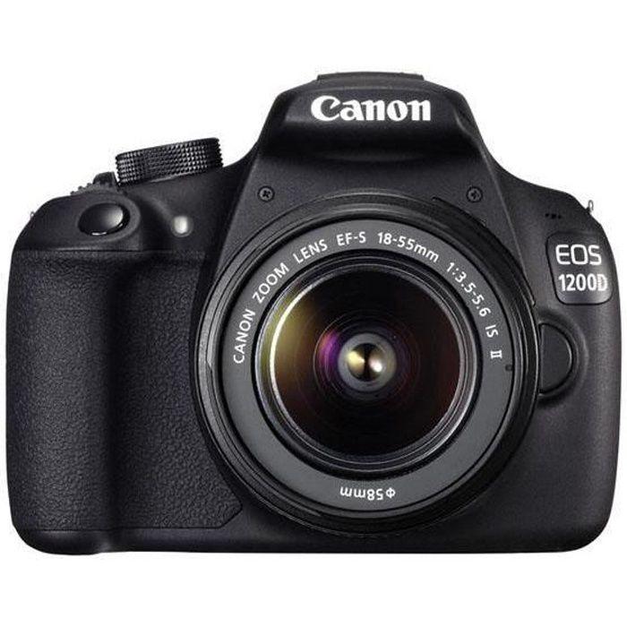 CANON 1200D - APPAREIL PHOTO NUMÉRIQUE + OBJECT…
