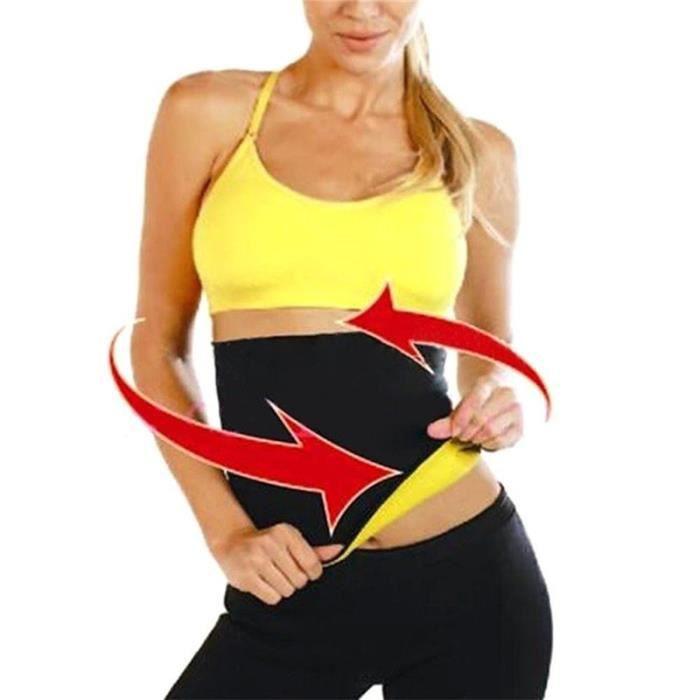 1pcs Ceinture de sudation neoprene - minceur et ventre plat en néoprène fitness -taille XL