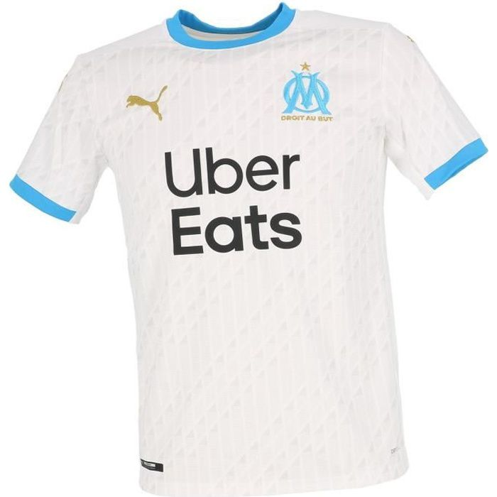 Maillot de football Om home rep shirt wht jr - Puma