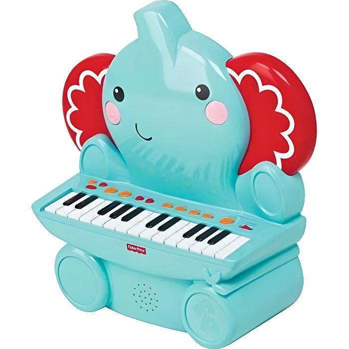 FISHER PRICE Piano électronique Eléphant