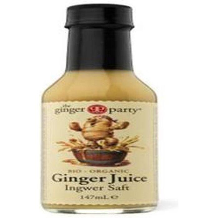 Le jus de gingembre biologique gingembre Personnes 147ml