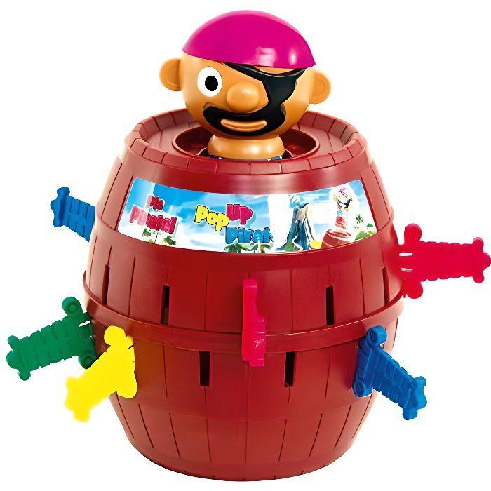 TOMY - Pic Pirate Jeux de Société pour Enfants T7028A1, Jouet Enfant 4 ans, Jeu Rigolo pour Groupes, Cadeau Anniversai T7028A