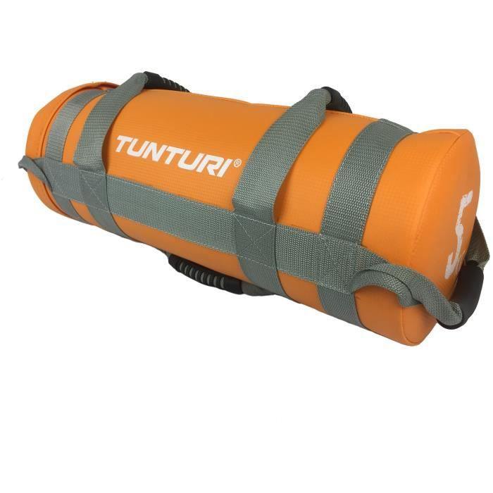 TUNTURI Sac d'entraînement lesté crossfit 5kg orange