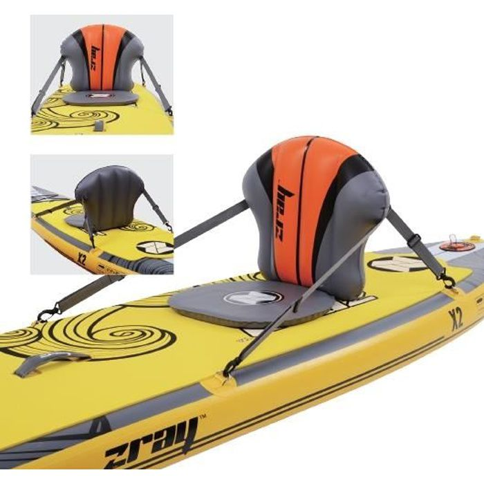 Siège de kayak gonflable Zray pour SUP Paddle