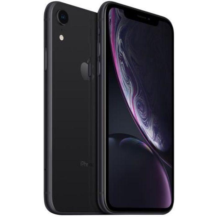 SMARTPHONE iPhone Xr 64 Go Noir Reconditionné - Comme Neuf