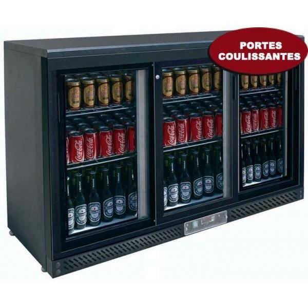 frigo bar 3 portes coulissantes achat vente armoire a boisson cdiscount. Black Bedroom Furniture Sets. Home Design Ideas