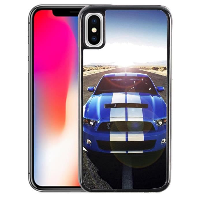 coque iphone 8 plus ford mustang