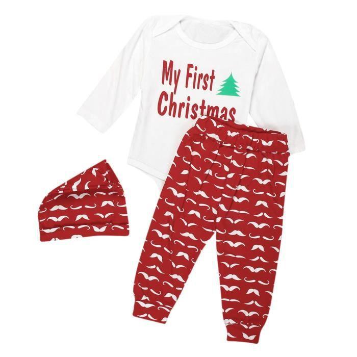 Pantalons Bébé Nouveau-né Enfants Bébé Garçons Tenues Vêtements Ange Tops Hat Set