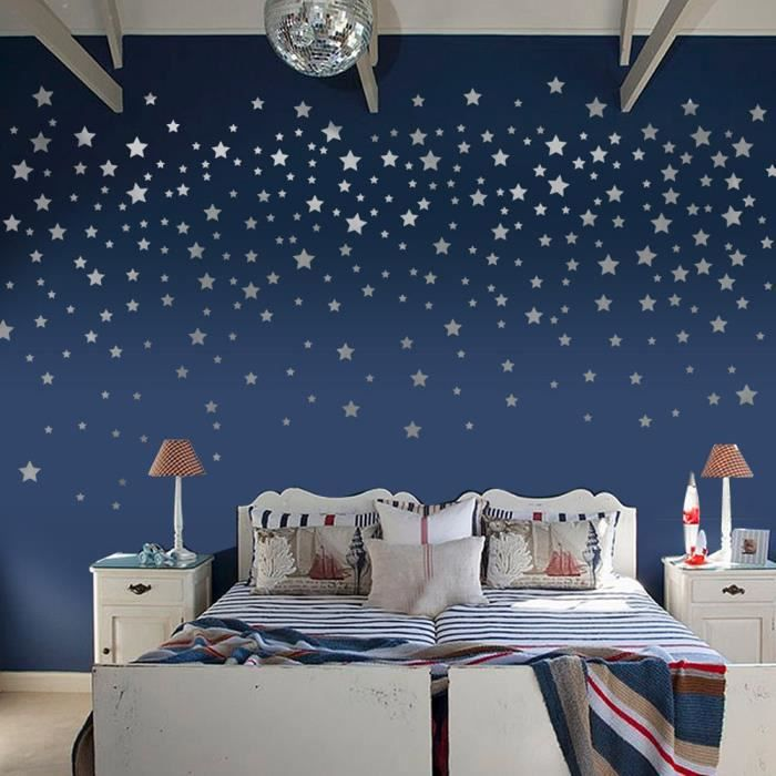 awesome stickers chambre bebe etoile ideas amazing house. Black Bedroom Furniture Sets. Home Design Ideas