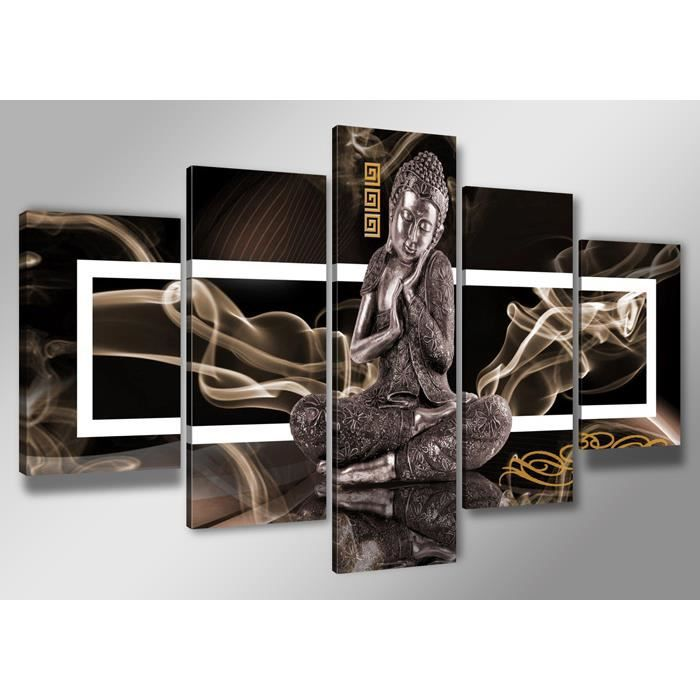 tableau moderne imprim 200 x 100 cm bouddha achat. Black Bedroom Furniture Sets. Home Design Ideas