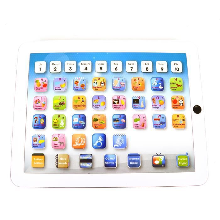 TABLETTE ENFANT WONDERKIDS - Tablette Tactile 25cm