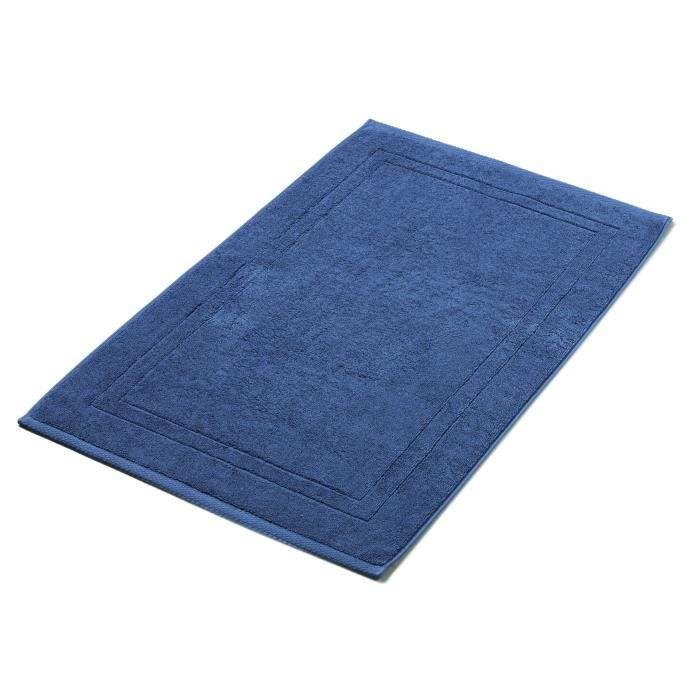tapis de bain 50x80cm bleu nuit 1000g m achat vente tapis de bain soldes d t cdiscount. Black Bedroom Furniture Sets. Home Design Ideas