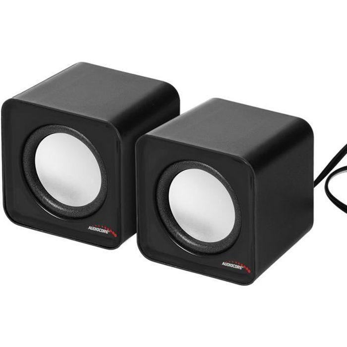 ENCEINTES ORDINATEUR Haut-parleurs d'ordinateur Enceinte Audiocore AC87