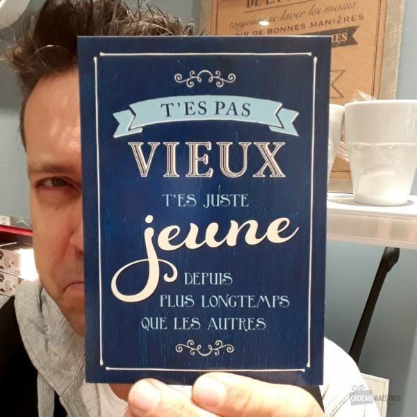 Carte Anniversaire Humour Et Philosophique Cadeau Maestro Bleu Marine Et Blanc Achat Vente Faire Part Invitation Carte Anniversaire Humour Et Cdiscount