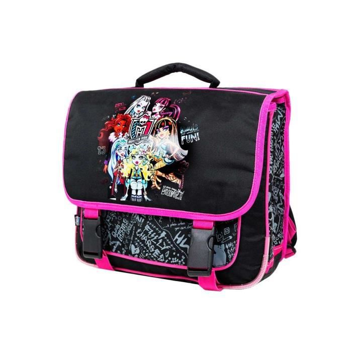 monster high cartable sac dos scolaire cole enfant fille disney achat vente cartable. Black Bedroom Furniture Sets. Home Design Ideas