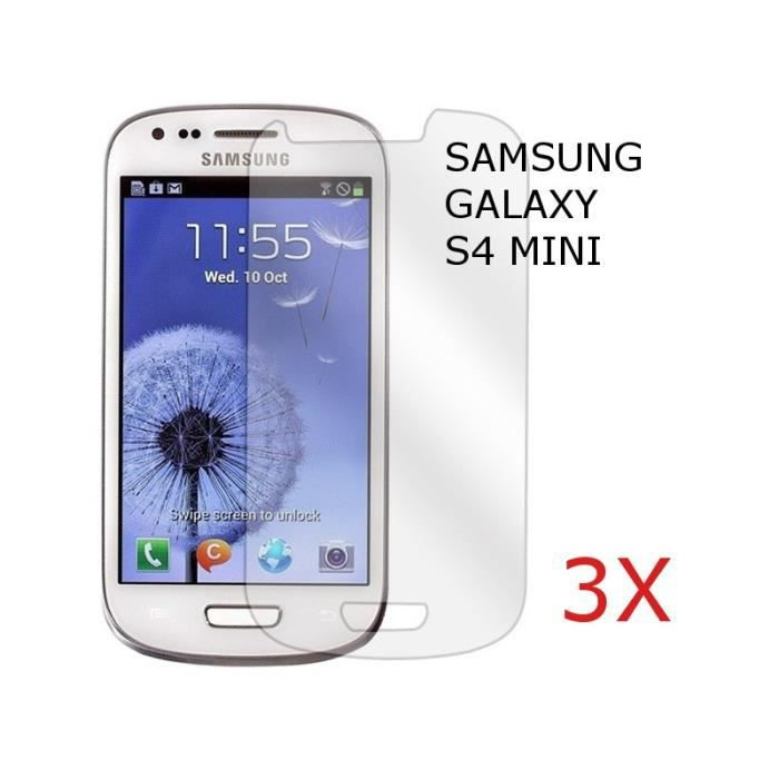 film protection cran samsung galaxy s4 mini 3x achat. Black Bedroom Furniture Sets. Home Design Ideas