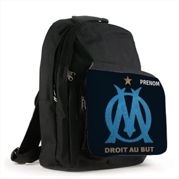 grand sac a dos personnalise prenom modele om olympique de marseille sad196b achat vente sac. Black Bedroom Furniture Sets. Home Design Ideas