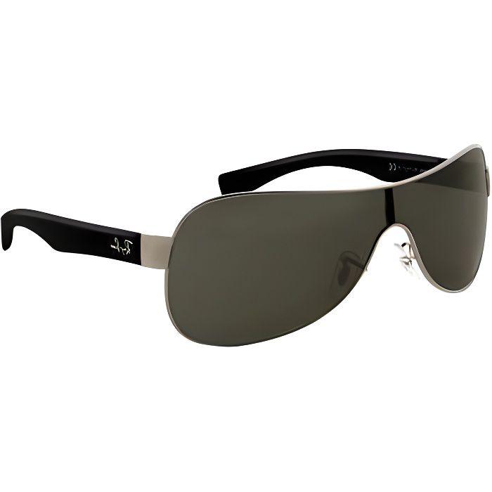 lunettes soleil ray ban homme noir
