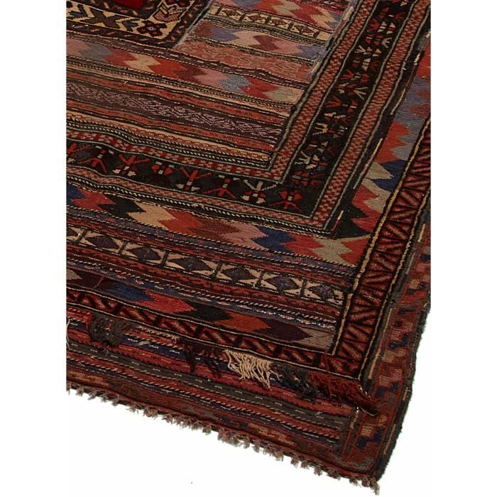 tapis d 39 orient nou main bergeste relief 3d 2 achat vente tapis cdiscount. Black Bedroom Furniture Sets. Home Design Ideas
