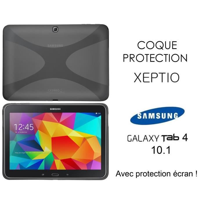 coque samsung galaxy tab 4 10 1 et film protection prix. Black Bedroom Furniture Sets. Home Design Ideas