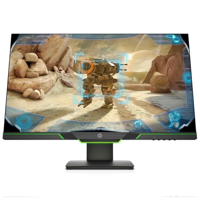 "ECRAN ORDINATEUR HP Écran PC Gamer 27xq - 27"" QHD - Dalle TN LED -"