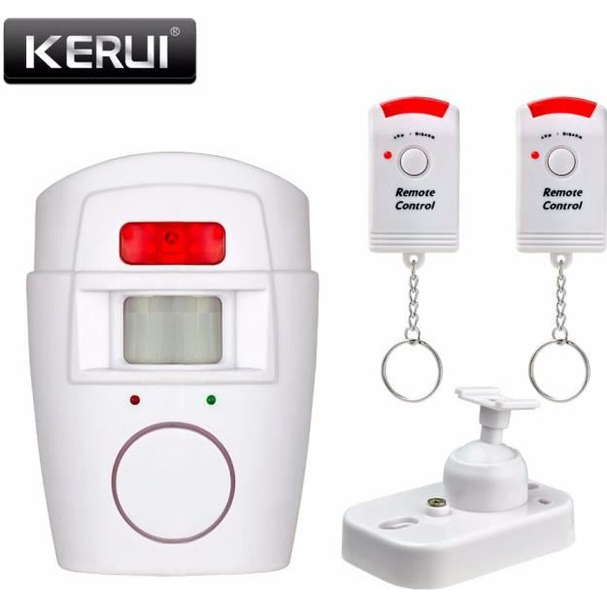 Kerui alarme infrarouge d tecteur de mouvement sir ne for Alarme de garage