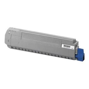 OKI Cartouche toner 44059255 - Compatible MC861 - Cyan - Standard 10.000 pages
