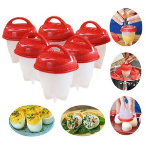 CUISEUR À OEUF Egg Cooker Hard & Soft Maker, sans coque, anti-adh