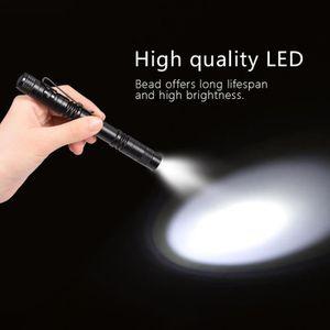 FLASH POUR TELEPHONE Mini Portable LED Pen Clip Lampe De Poche Haute Lu