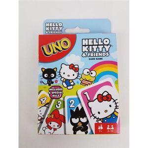 JEU SOCIÉTÉ - PLATEAU Mattel MTTFNC40 UNO Hello Kitty Jeu de société