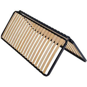 SOMMIER AltoDuo - Sommier Pliable 2x20 Lattes 70x190