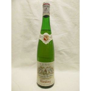 VIN BLANC riesling auguste gerber (b1) blanc 1981 - alsace f