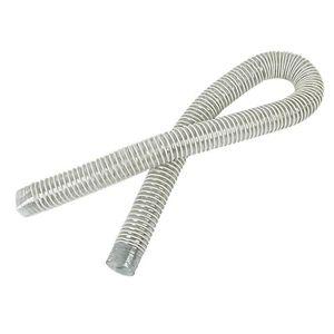 1 45mm Tuyau flexible en silicone pour tuyau dair Noir Longueur 1 m
