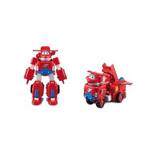 FIGURINE - PERSONNAGE SUPER WINGS Jett's Super Robot transformable  34 c