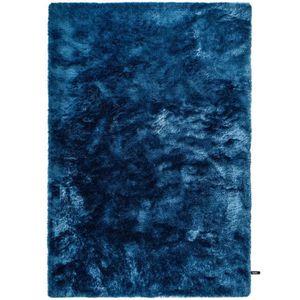 COUVERTURE - PLAID Tapis shaggy à poils longs Whisper Bleu 80x150 cm