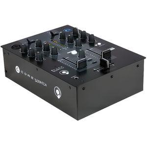 TABLE DE MIXAGE  CORE Scratch Table de mixage DJ 2 canaux