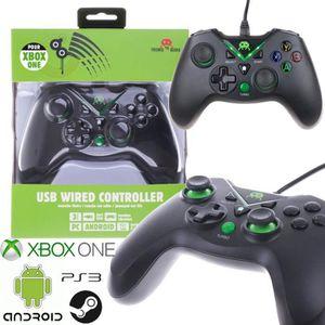 MANETTE JEUX VIDÉO Manette filaire pour Xbox One compatible PS3, Andr