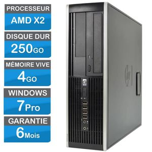 UNITÉ CENTRALE  HP Compaq 6005 Pro AMD X2 4 Go Ram 250 Go HDD Win7