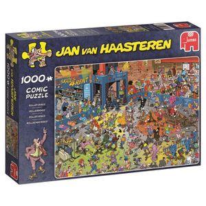 PUZZLE puzzle Jumbo Rouleau Disco 1000 Pièces