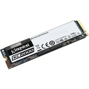 DISQUE DUR SSD KINGSTON SSD KC2000 - M.2 2280 Interne - 1,95 To -