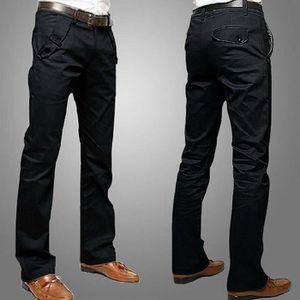 PANTALON Nouveau Design Casual Hommes Pantalons Coton Mince
