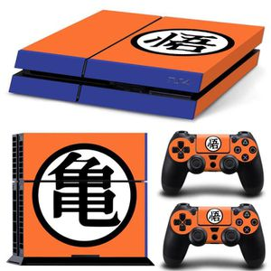 STICKER - SKIN CONSOLE JWmall®Dragon Ball 3-PS4 Sticker Skin Stickerbomb