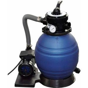 POMPE - FILTRATION  Pompe à filtre à sable 400 W 11000 l-h avec pompe