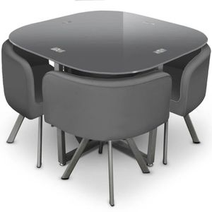 table manger achat vente table manger pas cher cdiscount. Black Bedroom Furniture Sets. Home Design Ideas