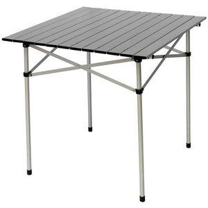 TABLE DE JARDIN  Table pliante pour jardin en aluminium avec platea